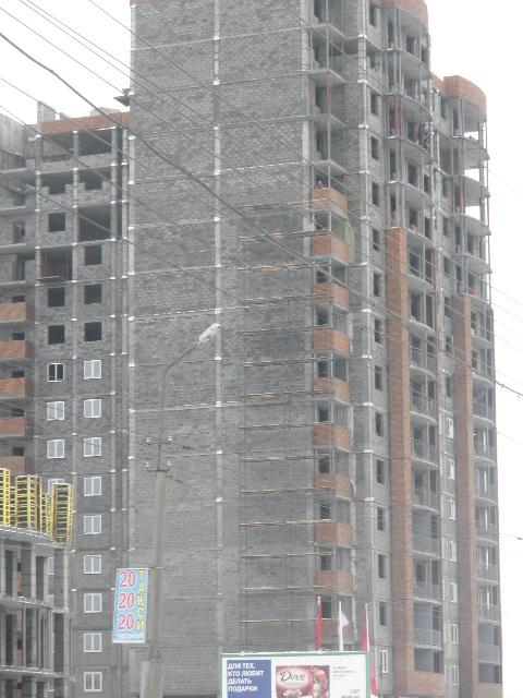 Строящиеся апартаменты.