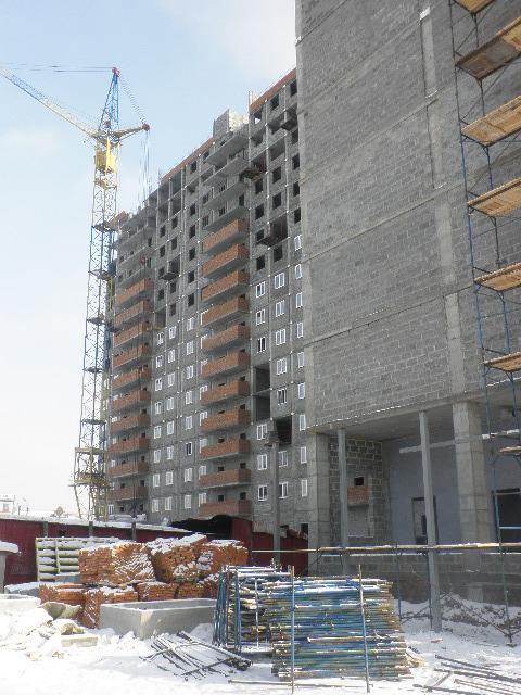 Апартаменты, которые не достроятся.