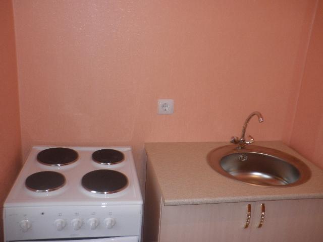 Кухня в апартаментах.